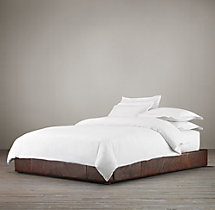 Platform Bed Leather