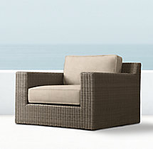 Biscayne Luxe Swivel Chair