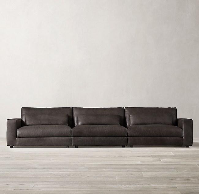 Lugano Modular Leather Sofa