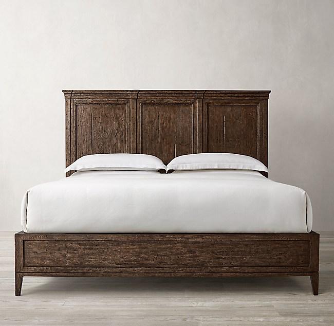 Cayden Campaign Panel Bed