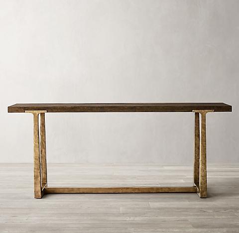 Groovy Console Tables Rh Inzonedesignstudio Interior Chair Design Inzonedesignstudiocom