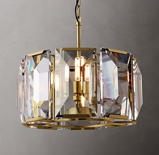 "Harlow Crystal Chandelier 19"" by Restoration Hardware"