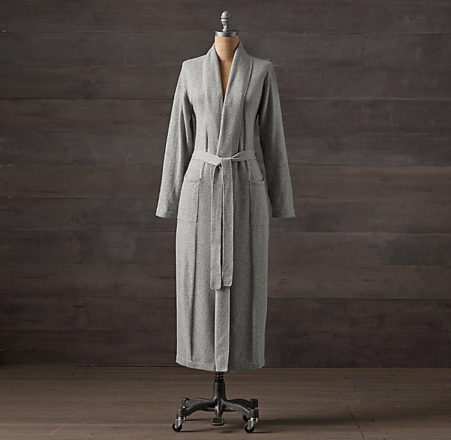 c9bf6e9fc0 Cashmere Long Robe. COLOR PREVIEW UNAVAILABLE. Alternate view 1 ...