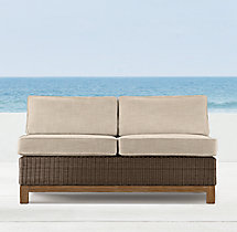 Malibu Two-Seat Armless Sofa