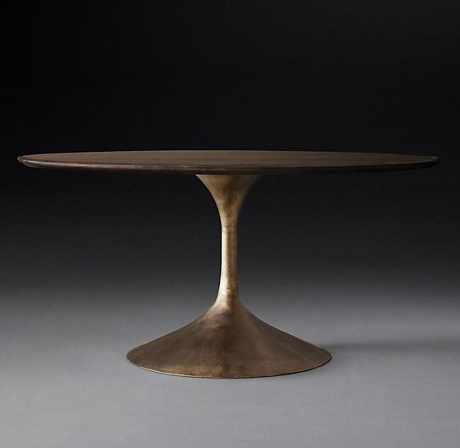 Aero Wood Round Dining Table