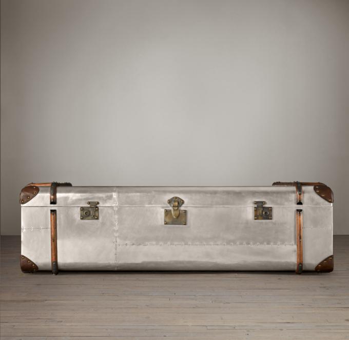 Trunk Coffee Table Aluminum