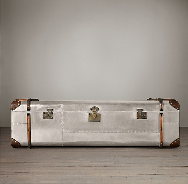 Richards' Trunk Coffee Table - Aluminum