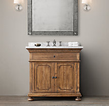 St. James Single Vanity Sink