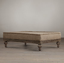 "Deconstructed 49"" French Napoleonic Ottoman"