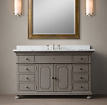 St. James Single Extra-Wide Vanity