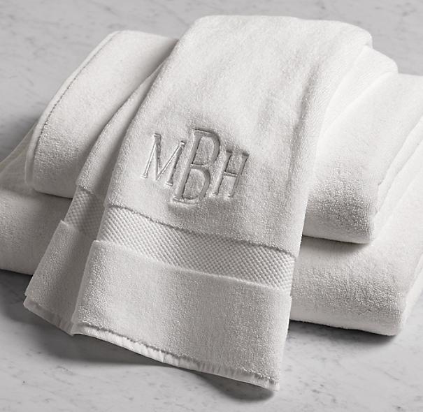 802 Gram Turkish Towel Collection White