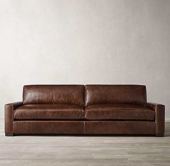 Maxwell Leather Sofa, Maxwell Leather Sofa
