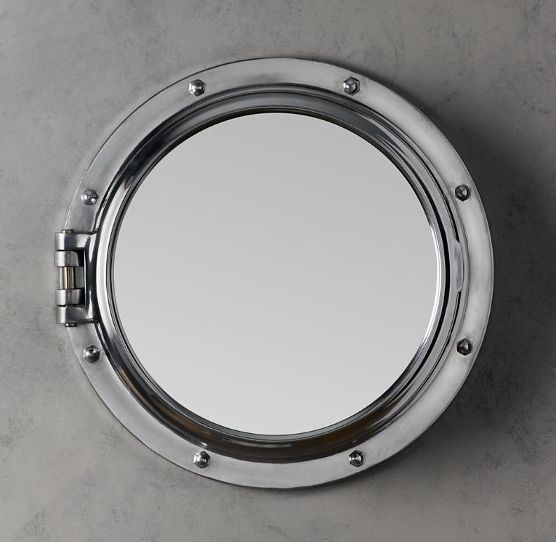 Royal Naval Porthole Mirrored Medicine