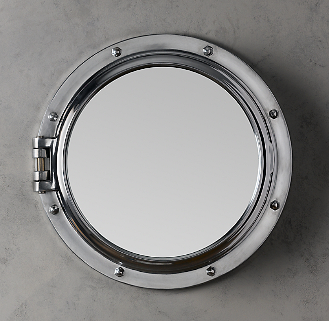 Royal Naval Porthole Mirrored Medicine Cabinet Color Preview Unavailable