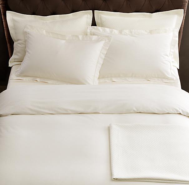 Italian Vintage Washed 600 Thread Count Sateen Bedding