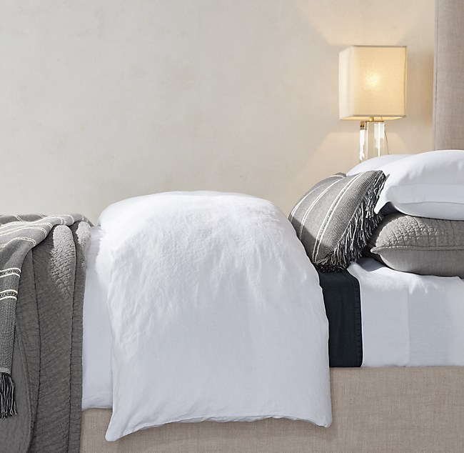 belgian linen bedding collection