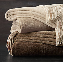 5-LB. Chenille Solid Throw