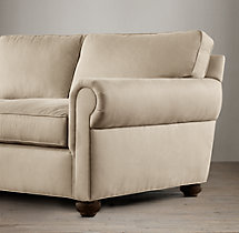 "120"" Classic Lancaster Upholstered Sofa"