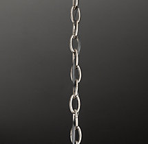 Chandelier Extension Chain Polished Nickel