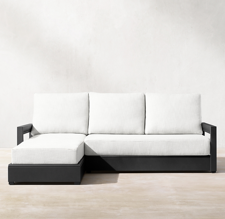 Luxe Left Arm Sofa Chaise Sectional