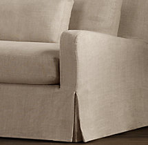 Belgian Slope Arm Replacement Slipcovers