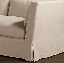 Belgian Shelter Arm Replacement Slipcovers