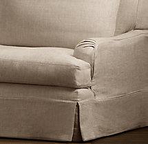 Belgian Classic Roll Arm Replacement Slipcovers