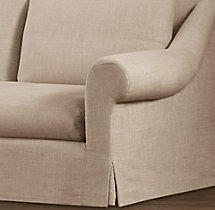 Belgian Roll Arm Replacement Slipcovers
