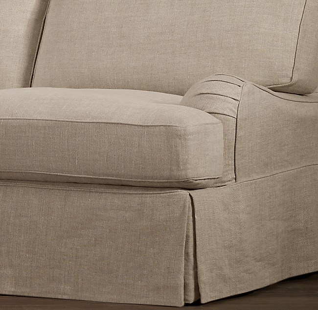English Roll Arm Collection, English Roll Arm Chair Cover