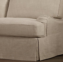 English Roll Arm Replacement Slipcovers