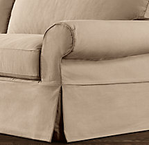 Grand-Scale Roll Arm Replacement Slipcovers