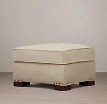 Library Upholstered Ottoman