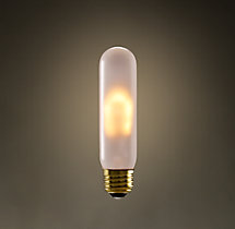 T10 Incandescent Edison Frost Bulb