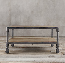 Dutch Industrial Square Coffee Table