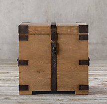 Heirloom Silver-Chest Side Table