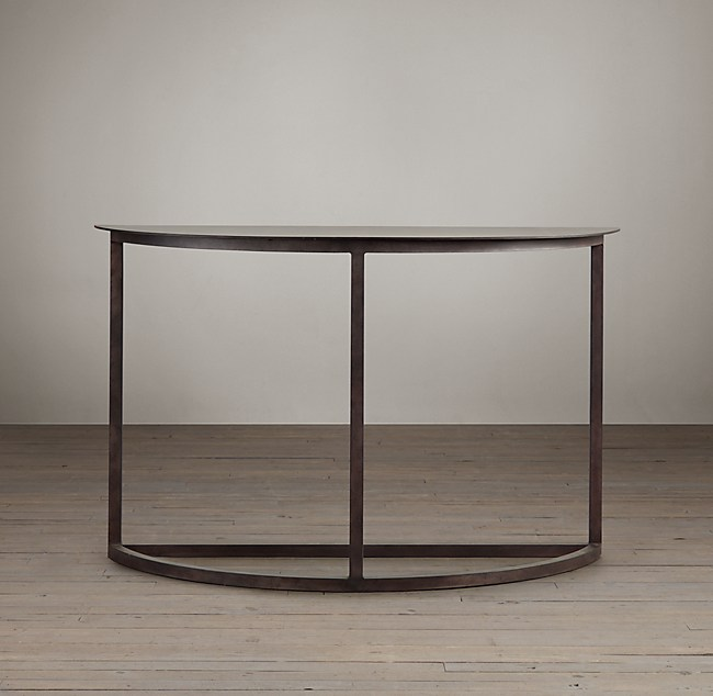 Mercer Demilune Console Table