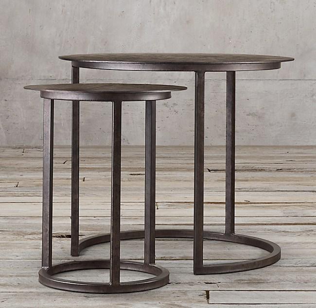 Mercer Round Nesting Tables