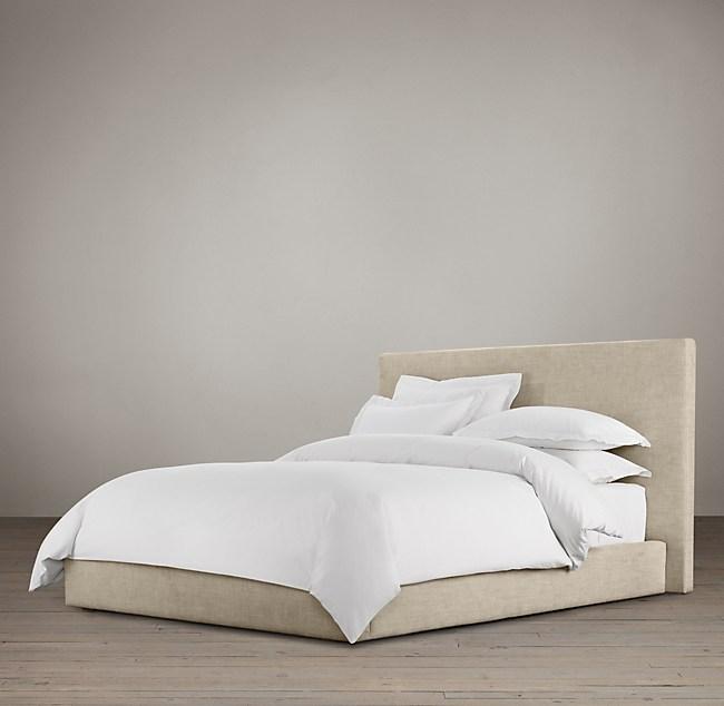 Astonishing Sullivan Fabric Platform Bed Creativecarmelina Interior Chair Design Creativecarmelinacom