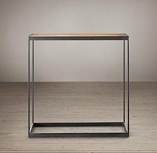 metal side tables for living room.  All Side Entry Tables RH