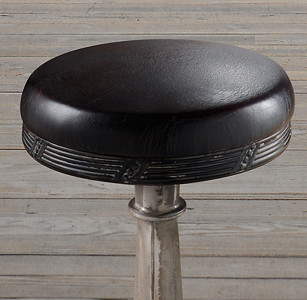 19th C Soda Fountain Stool
