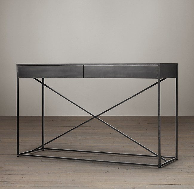 Gramercy Mirrored Console Table