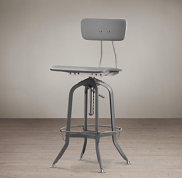 Counter Stools Restoration Hardware: Vintage Toledo Bar Chair