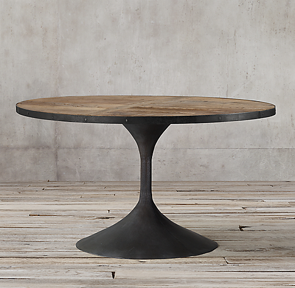 Round Dining Room Tables For 12: Aero Round Dining Table