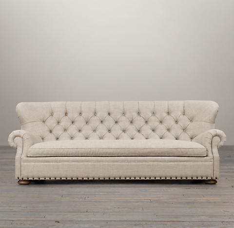 2 Depths 3 Lengths Churchill Sofa With Nailheads
