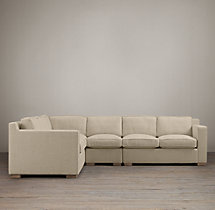 Preconfigured Collins Upholstered L-Sectional