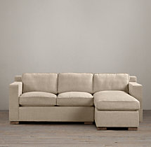 Preconfigured Collins Upholstered Right-Arm Chaise Sectional