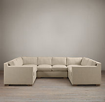 Preconfigured Collins Upholstered U-Sofa Sectional