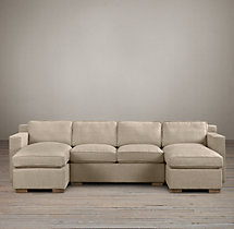 Preconfigured Collins Upholstered U-Chaise Sectional
