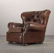 Churchill Leather Chair