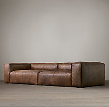 Fulham Leather Daybed